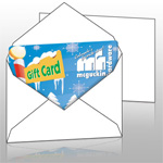 Blank envelopes to protect your plastic Loyalty Cards